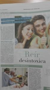 Reír desintoxica